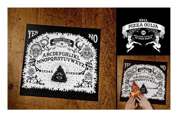 Hell Pizza: Pizza Ouija | Ads of the World™