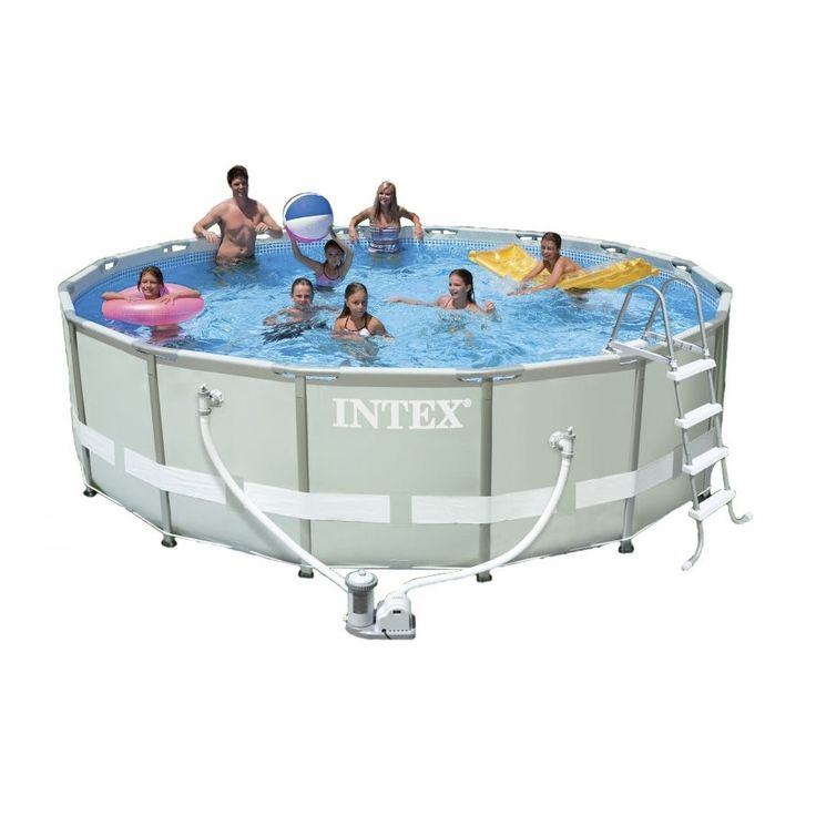 40 best Pools INTEX images on Pinterest Swimming pools, Pools - pool fur garten oval
