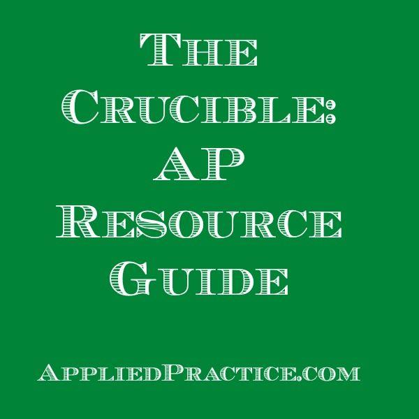 86 best applied practice corner images on pinterest corner the crucible apenglish resource guide appliedpractice teacher fandeluxe Image collections