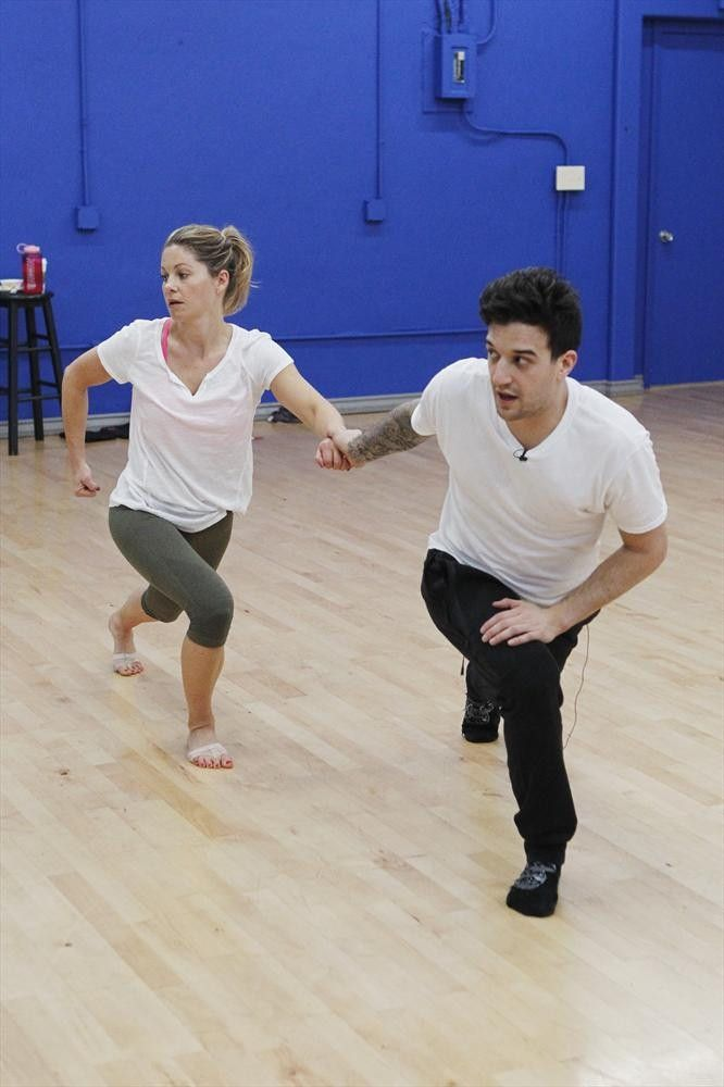 Wk1 Rehearsal Photos: Candace Cameron Bure and Mark Ballas