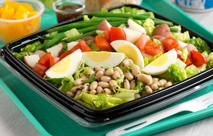 Protein Packed Veggie Salad