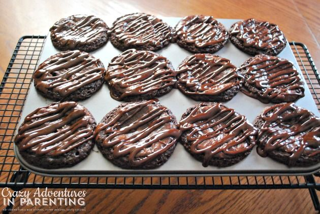 Oreo Cookie Dough Brownie Cupcakes | Crazy Adventures in Parenting
