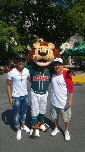 """Mérida, Yuc. ( www.leones.mx / Mario Serrano) 17 de sep.- Leonel """"El Coronel"""" participó en la 5a Carrera de Botargas donde los Leones de Yu..."""