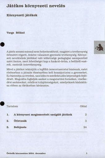 C6-8 - Játékos környezeti nevelés - Angela Lakatos - Picasa Webalbumok