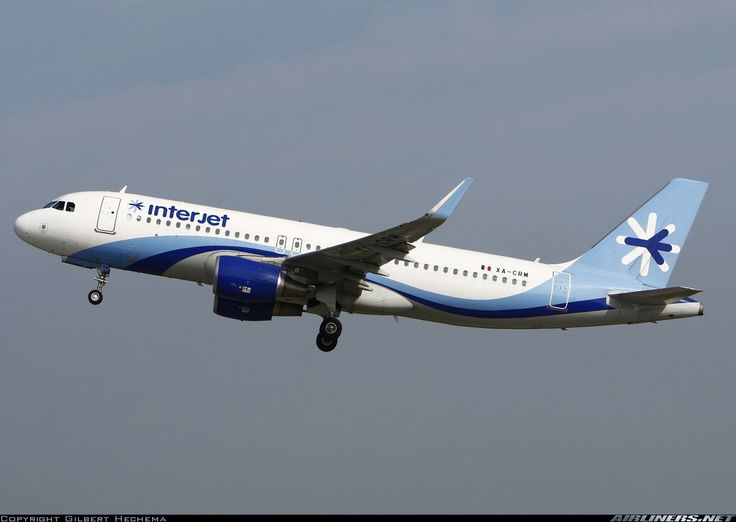 Airbus A320-214 (WL) - Interjet | Aviation Photo #4468255 | Airliners.net