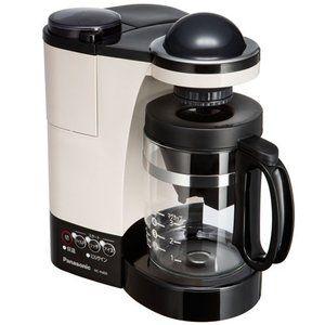 パナソニック ミル付き浄水コーヒーメーカー Nc R400 C カフェオレ 納期約1 2週間 コーヒーメーカー 浄水 カフェオレ