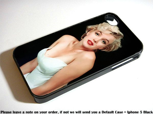 Marilyn Monroe Sexy White Case For Samsung Galaxy