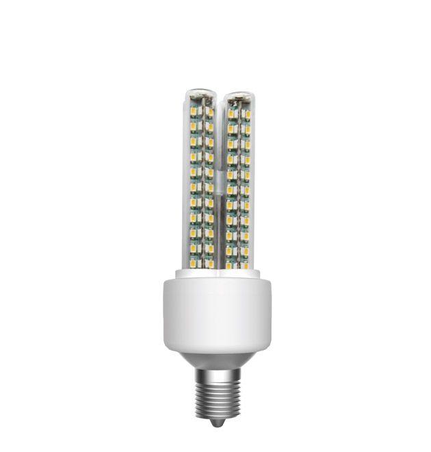 LED 2U E14 10 Watt 670 Lumen dimbaar vervangt 60 watt