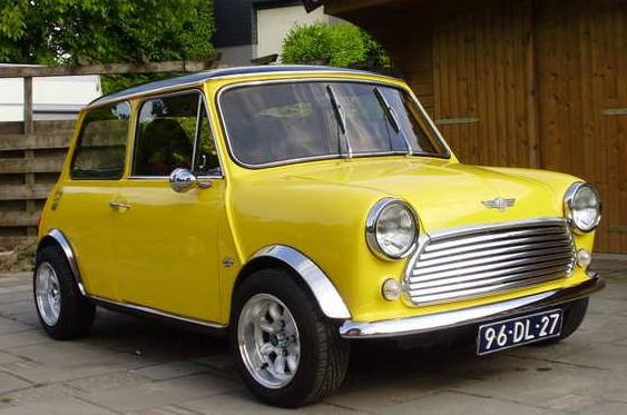 I see a ton of these in Oxford. It really makes me want a classic Mini Cooper over the modern ones.