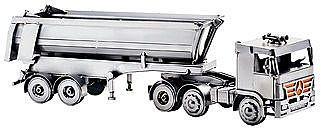 Modell LKW Auflieger in der Größe 50x14 cm - Online Geschenkeshop mit Schraubenmännchen mit Widmung und mehr