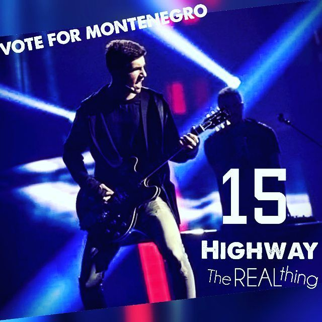 Vote for number 15 at #Eurovision #ESC2016. Starting 21:00 CET!  Your voice means 50% of our result tonight and 100% of our love  Wish us luck and keep your fingers croseed!  #Stockholm #EurovisionESC #Eurovision2016 #esc #ESC2016 #escmontenegro #eurovisionsongcontest #eurovisionsongcontest2016 #Montenegro #Sweden #globearenas #Highway #HighwayBand #Real #Thing #TheRealThing by highwaytrio #Eurovision #Eurovision2016