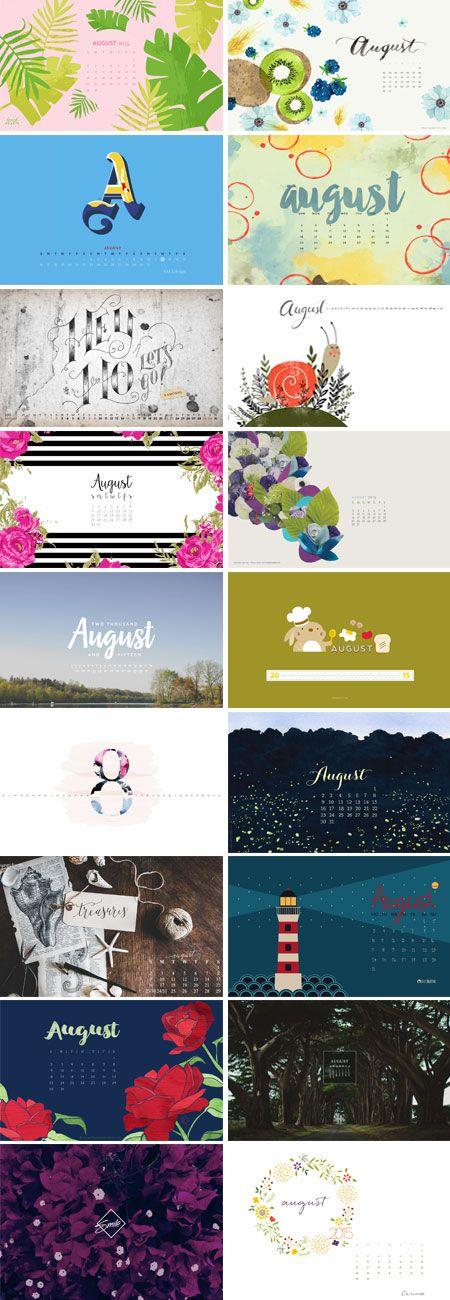 August 2015 – Wallpaper Round-Up