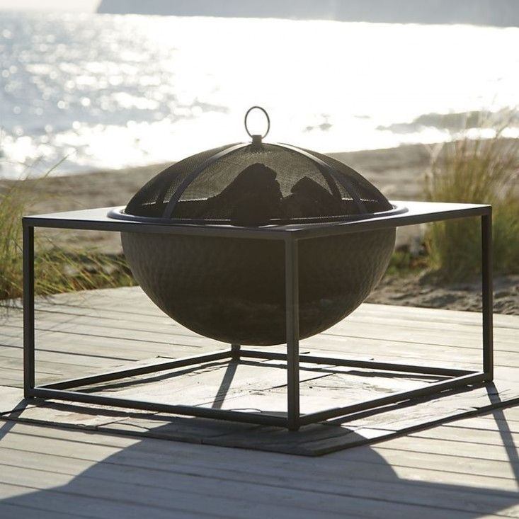 Crate And Barrel Fire Pit Gardenista All About The