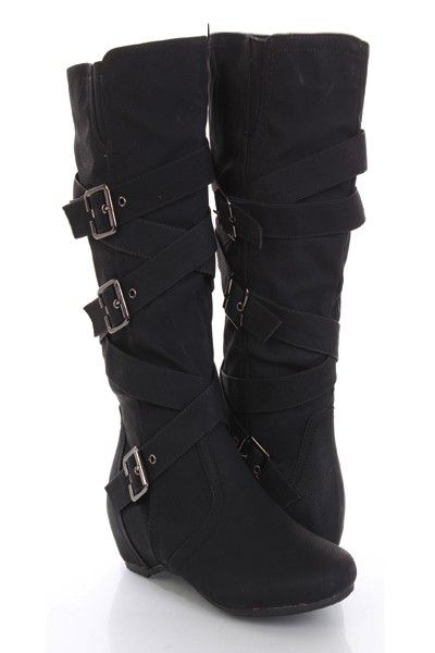 39f126c25c1 Make a fashion statement with these stylish mid calf boots! Its a must have  for
