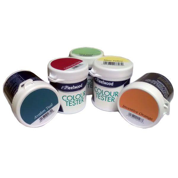 Fleetwood Paint Tester Pots from Lenehans Hardware Store, Capel Street, Dublin