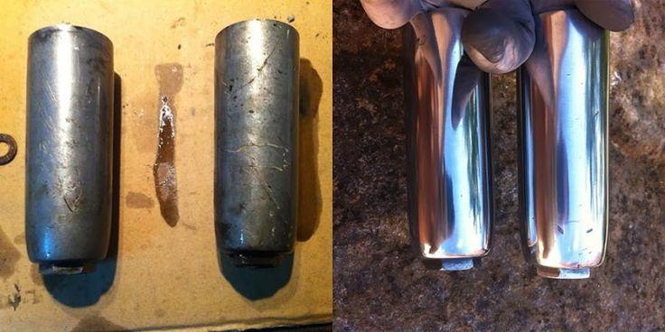 Pulido casero a espejo en objetos de aluminio hecho en minutos. La técnica que todos quieren hacer.