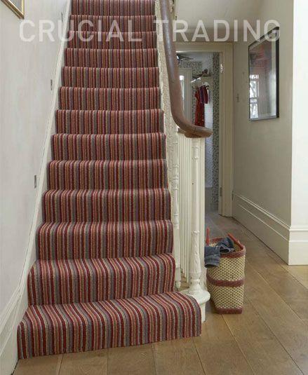 Stripey stair runner