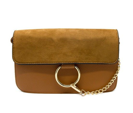 Kathy Ireland Crossbody Bags, Brown - Brands For Less