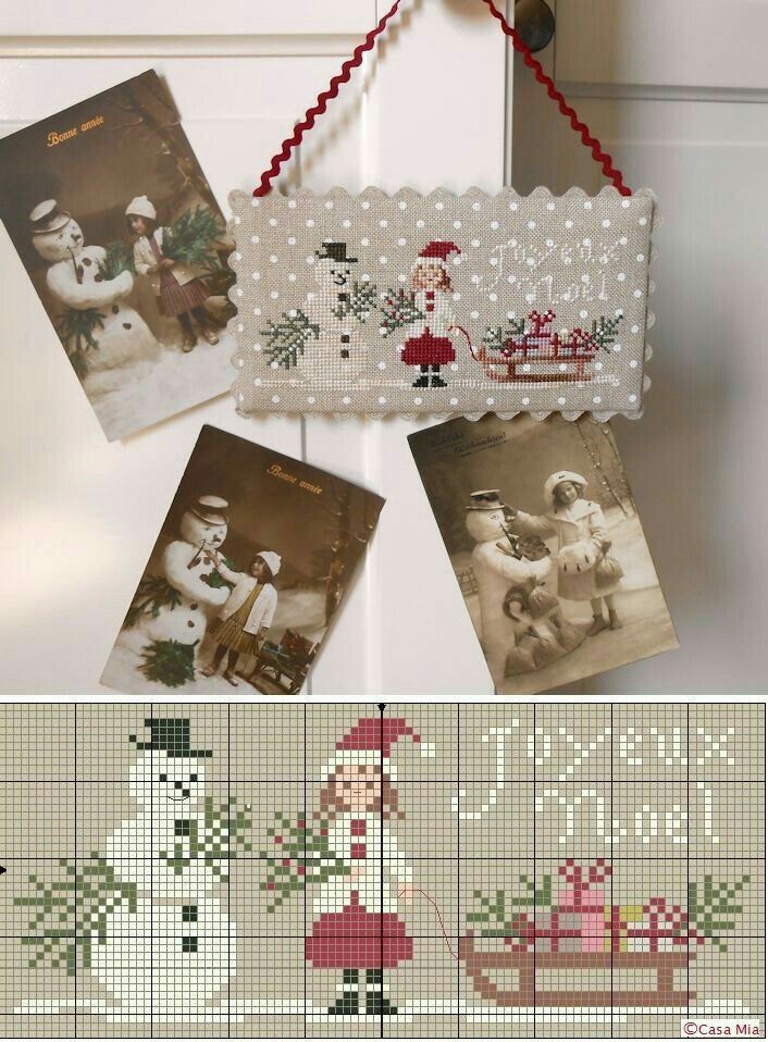 #cross-stitch #christmas