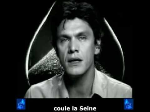 Marc Lavoine - « Le pont Mirabeau » + sous-titres