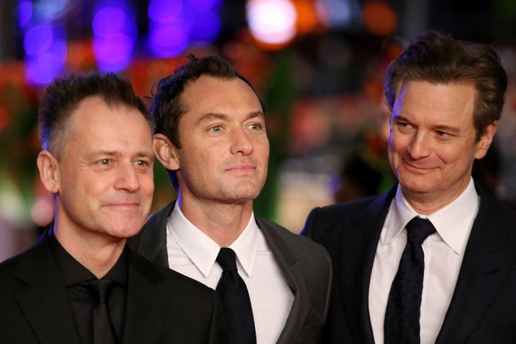 Pin for Later: Colin Firth and Jude Law Add a Touch of Class to the Berlin Film Festival Michael Grandage, Jude Law, and Colin Firth