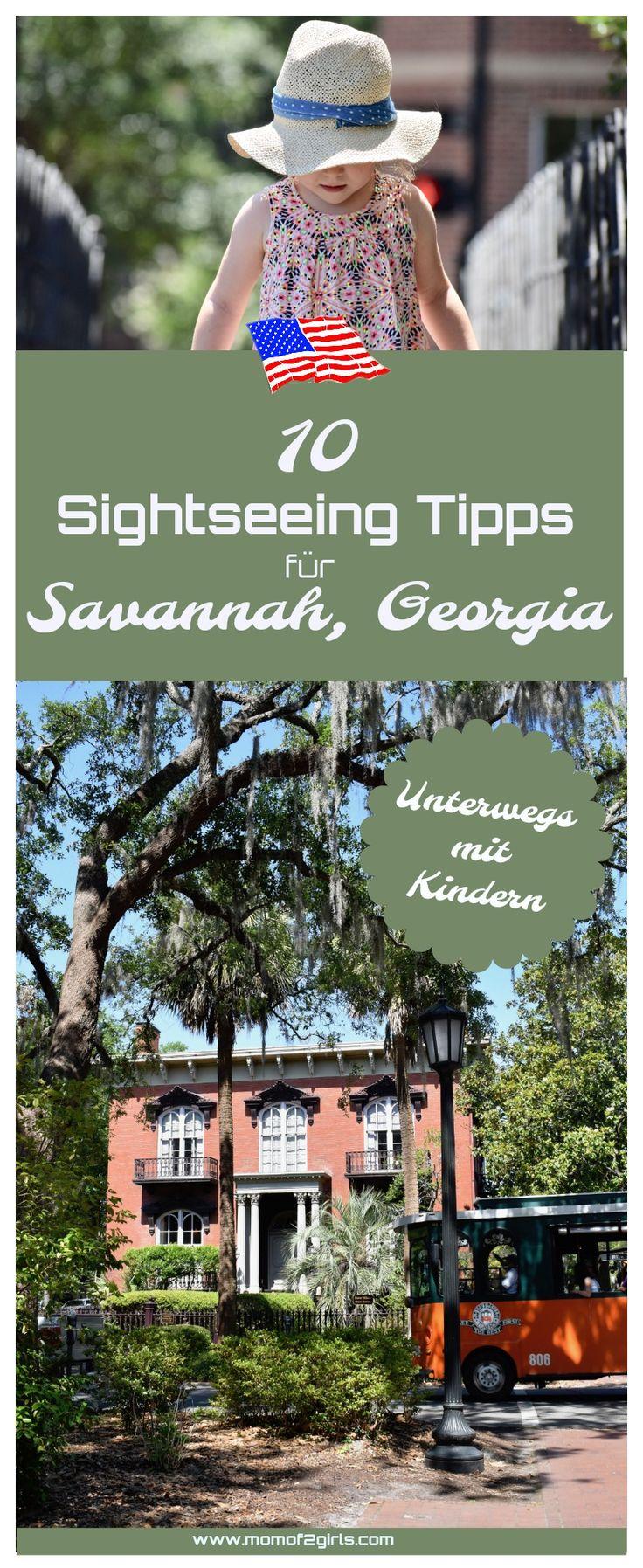 Auf unserem Road Trip mit dem Wohnmobil entlang der Ostküste der USA haben wir und Savannah, Georgia angeschaut. Eine Stadt, die man sich unbedingt anschauen muss. Entdeckt die Stadt mit euren Kindern, taucht ab in den Südstaatenflair, setzt euch in den Park, in dem Forrest Gump gedreht wurde und entdeckt mit meinen 10 Top Sightseeing Tipps die Stadt mit euren Kids...