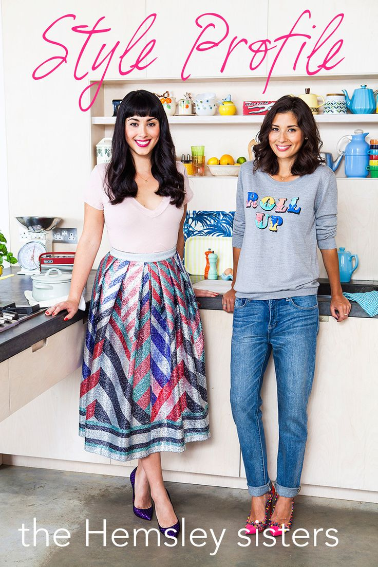 Melissa & Jasmine Hemsley are gorgeous! I love Jazmine's style so much!