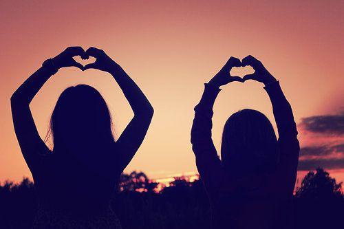 Put your hearts up, if we give a little love maybe we can change the world <3
