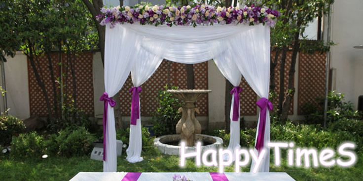 Best 25+ Outdoor Wedding Canopy Ideas On Pinterest