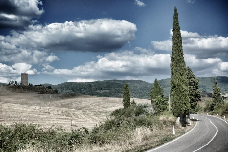 Tuscany, Val d'Orcia  (by Lex van der Giessen)