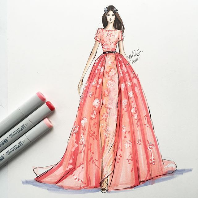 66 best fashion sketches images on Pinterest