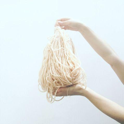 beautiful hand dye wool by pompom, a project by Sara Pierazzuoli, Italy