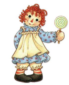 *RAGGEDY ANN ~ From the Heart PostCards - Why God Made Little Girls