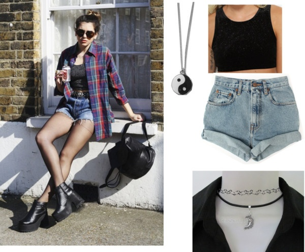 """""""Summer cookbook: how to do summer grunge"""" by emilylysianne on Polyvore"""