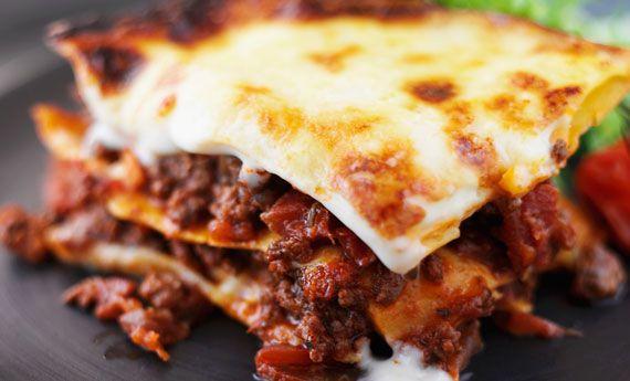 Lasagne con ragù di agnello rosso | Cambio cuoco