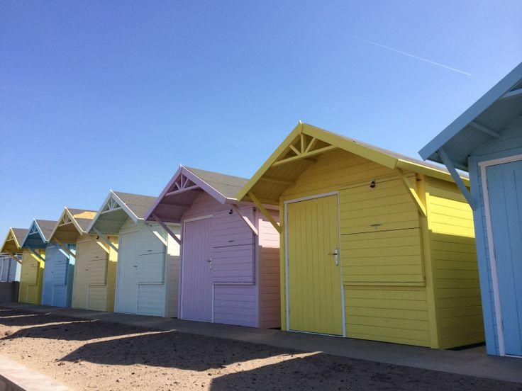 Bring on the Summer, Fleetwood beach huts