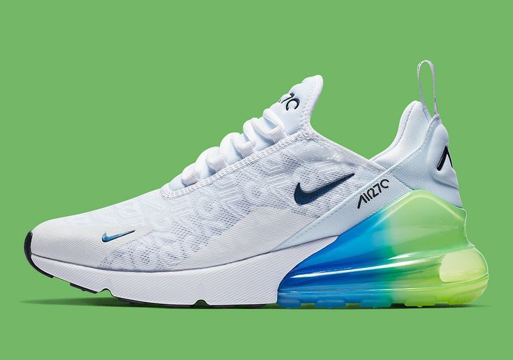 All Over Branding Comes To The Nike Air Max 270 | Cute