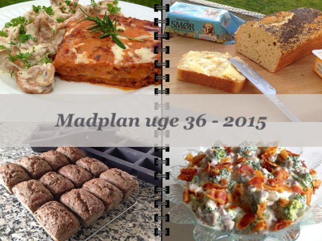 CDJetteDC's LCHF: MADPLAN uge 36 - 2015