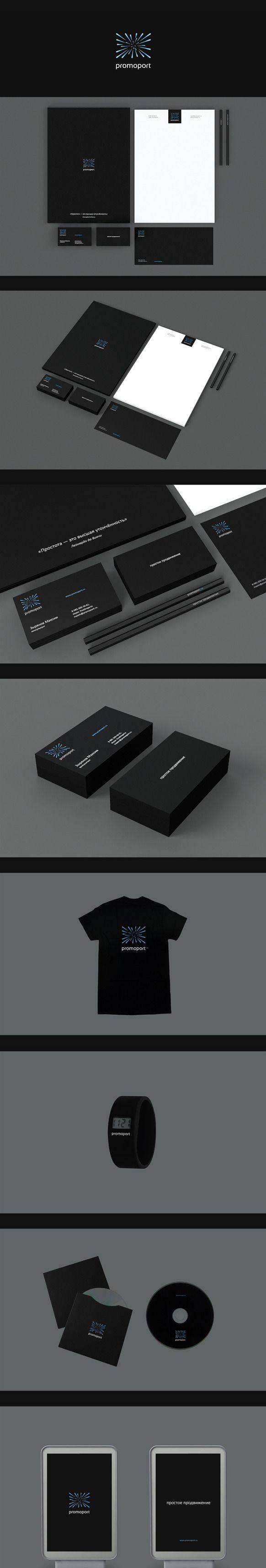 PROMOPORT identity by Zen Design