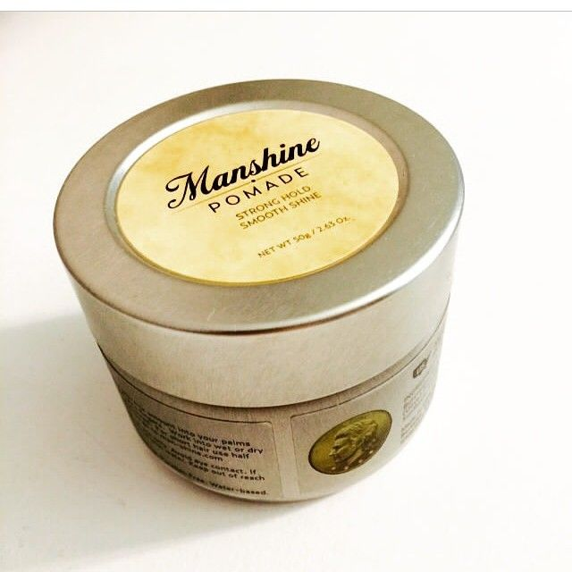 Manshine Pomade / High-performance / 100% Natural / Strong Hold & Smooth Shine