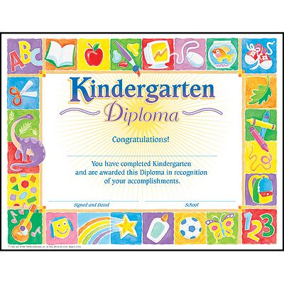 13 best Kindergarten Graduation images on Pinterest Kindergarten - congratulations certificate
