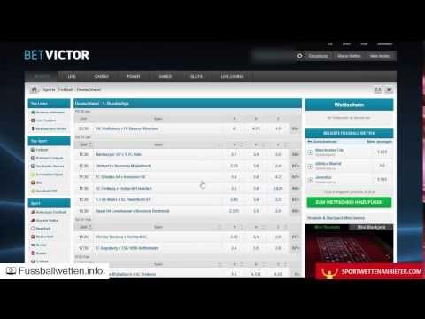 Betvictor Erfahrungen - Test von fussballwetten.info + sportwettenanbiet...