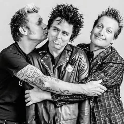 Green Day Billie Joe Armstrong Tré Cool Mike Durnt