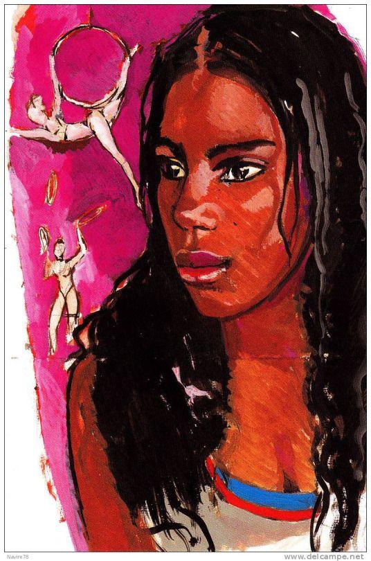 Portraits de femmes (Titouan Lamazou)