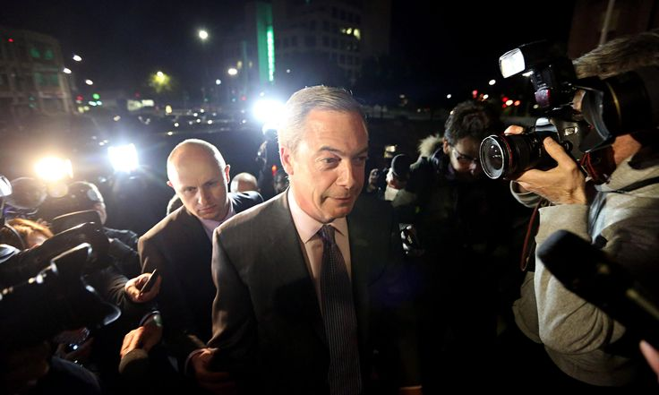 Ukip wins European elections with ease to set off political earthquake.(May 26th 2014)