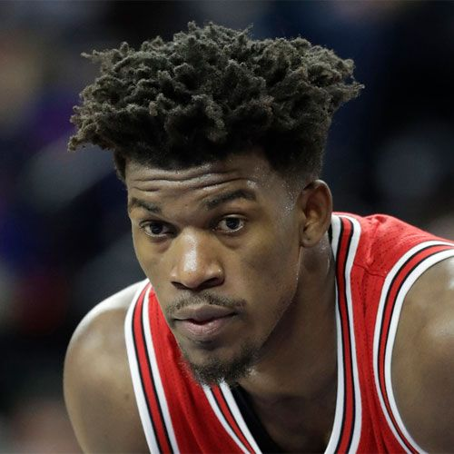 Jimmy Butler Hairstyle - Low Fade + Long Dreadlocks
