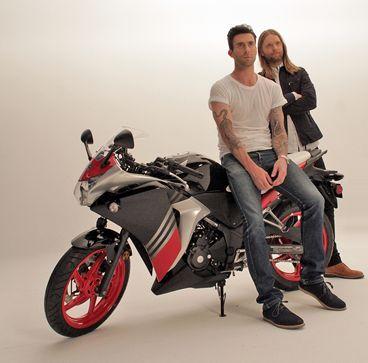Adam Levine and James Valentine #HondaCivicTour