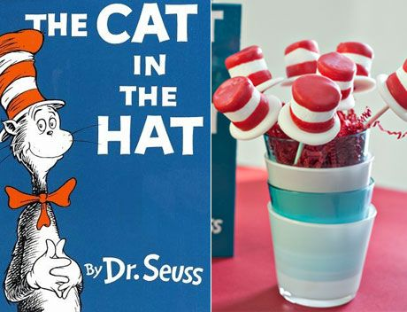 9 cute and clever recipes inspired by Dr. Seuss books! #seuss