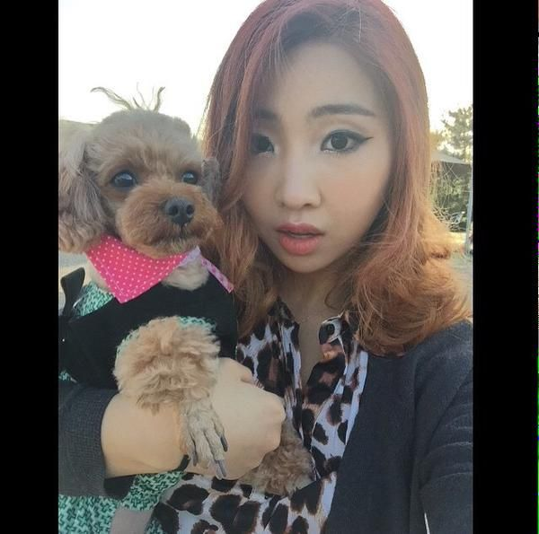 "Minzy's IG Update ""I got your back baby❤️ stay healthy!!"""