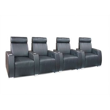 Celebrity Home Theater Seating (Row Of 3) by Bass
